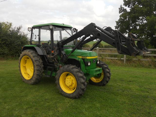 John Deere Side By Side >> John Deere 1950 4wd c/w loader